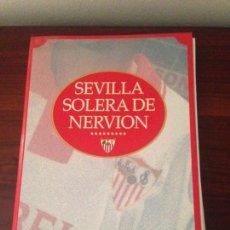 Coleccionismo deportivo: SEVILLA SOLERA DE NERVION,EL CORREO.. Lote 132500958