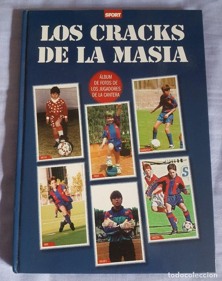 LOS CRACKS DE LA MASÍA (Coleccionismo Deportivo - Libros de Fútbol)