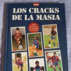 Coleccionismo deportivo: LOS CRACKS DE LA MASÍA . Lote 132601682
