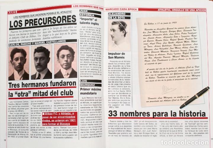 Coleccionismo deportivo: ATHLETIC, ORGULLO DE UNA AFICION - Publicado por Marca - Athletic Club de Bilbao - Foto 2 - 132622870