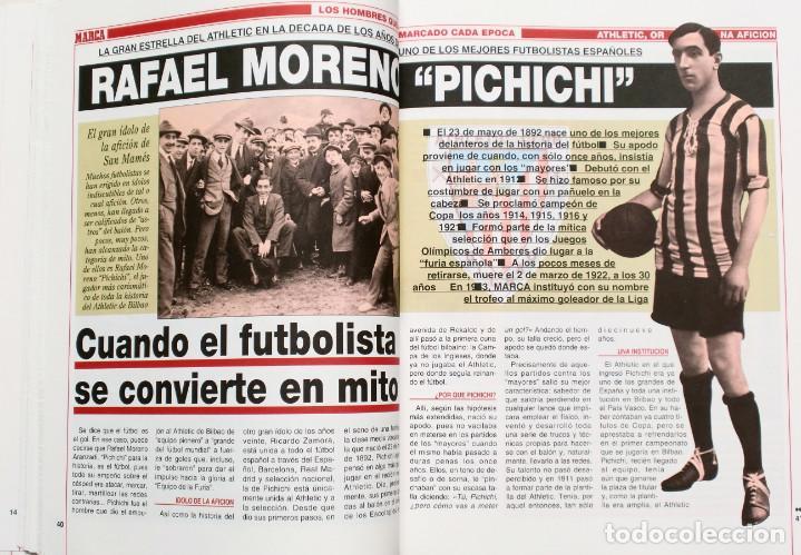 Coleccionismo deportivo: ATHLETIC, ORGULLO DE UNA AFICION - Publicado por Marca - Athletic Club de Bilbao - Foto 3 - 132622870