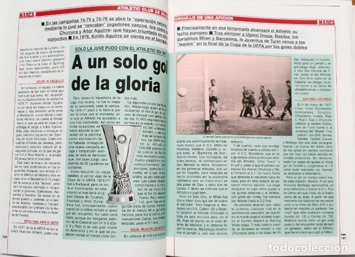 Coleccionismo deportivo: ATHLETIC, ORGULLO DE UNA AFICION - Publicado por Marca - Athletic Club de Bilbao - Foto 6 - 132622870