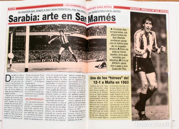 Coleccionismo deportivo: ATHLETIC, ORGULLO DE UNA AFICION - Publicado por Marca - Athletic Club de Bilbao - Foto 7 - 132622870