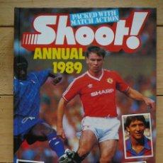 Coleccionismo deportivo: LIBRO ANUARIO FÚTBOL INGLATERRA 1989 (GARY LINEKER). Lote 133046714