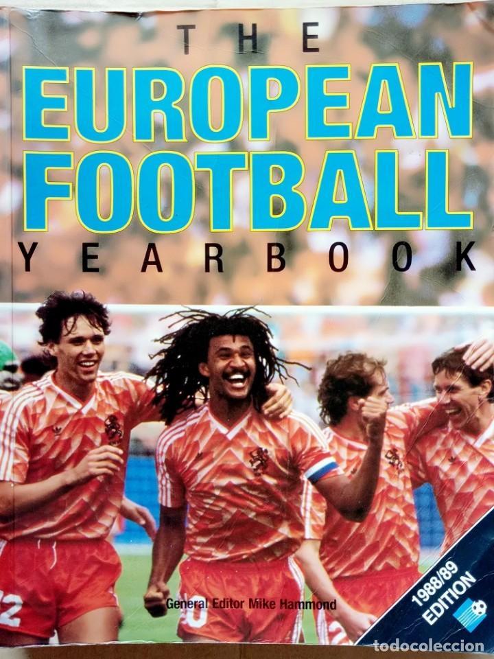 FACER BOOKS. - THE EUROPEAN FOOTBALL YEARBOOK 1988/89 - ANUARIO / YEARBOOK.# (Coleccionismo Deportivo - Libros de Fútbol)