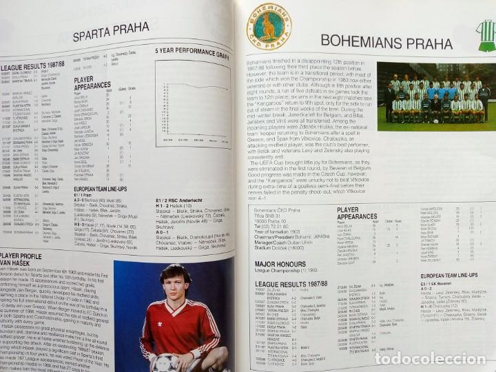 Coleccionismo deportivo: FACER BOOKS. - THE EUROPEAN FOOTBALL YEARBOOK 1988/89 - Anuario / Yearbook.# - Foto 2 - 133281862
