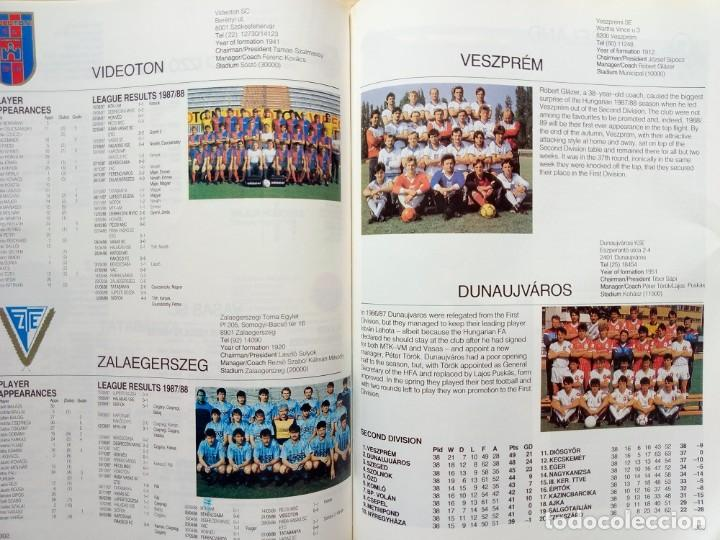 Coleccionismo deportivo: FACER BOOKS. - THE EUROPEAN FOOTBALL YEARBOOK 1988/89 - Anuario / Yearbook.# - Foto 4 - 133281862