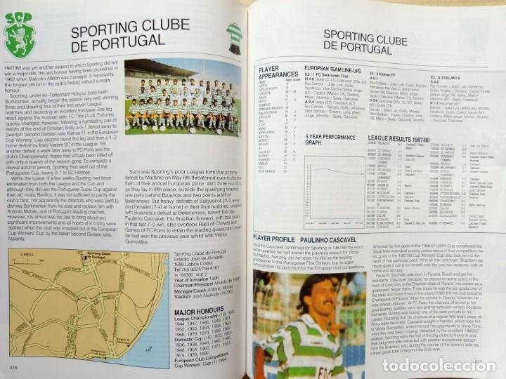 Coleccionismo deportivo: FACER BOOKS. - THE EUROPEAN FOOTBALL YEARBOOK 1988/89 - Anuario / Yearbook.# - Foto 5 - 133281862