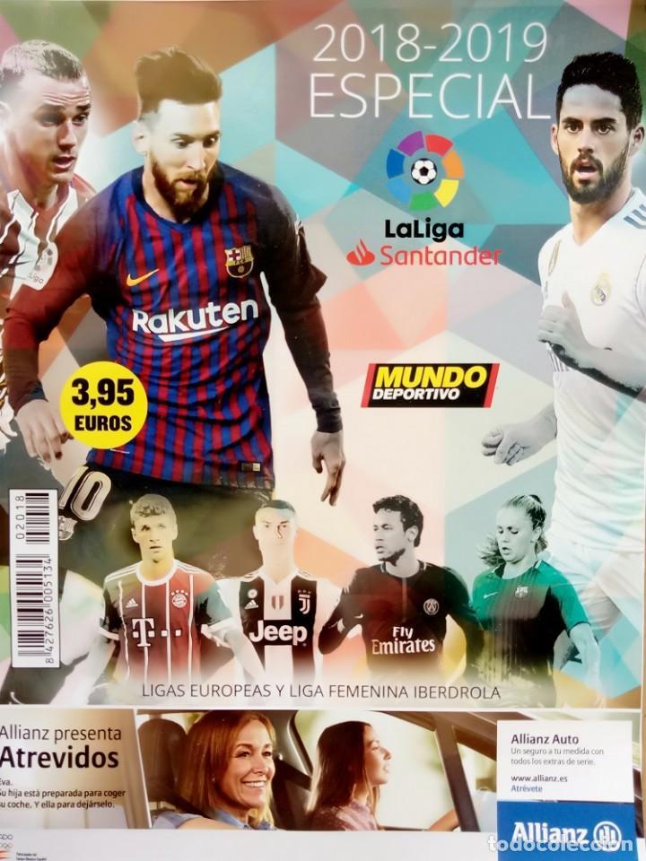 MUNDO DEPORTIVO. - LIGA 2018-2019 - EXTRALIGA / LEAGUEGUIDE.# (Coleccionismo Deportivo - Libros de Fútbol)
