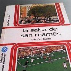 Colecionismo desportivo: LA SALSA DE SAN MAMÉS K-TOÑO FRADE ILUSTRADO TEMAS VIZCAÍNOS 1986. Lote 133412338