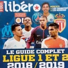 Coleccionismo deportivo: LIBERO. - GUIDE L1 ET L2 2018/2019.. Lote 133466210