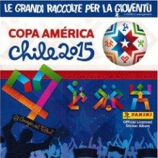 Coleccionismo deportivo: ALBUM PANINI. -COPA AMÉRICA CHILE 2015.. Lote 133466542