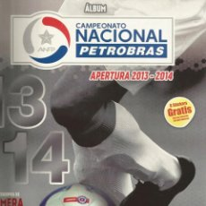 Coleccionismo deportivo: ALBUM PANINI. - CAMPEONATO PETROBRAS. APERTURA 2013-2014.. Lote 133467734