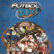Coleccionismo deportivo: ALBUM DS. - ARGENTINA FUTBOL 2001.. Lote 133468158