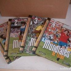 Coleccionismo deportivo: HISTORIA DE LOS MUNDIALES DE FUTBOL. Lote 133815890