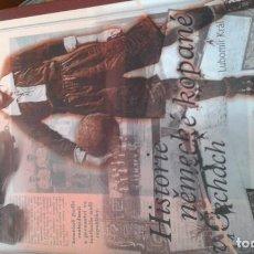 Coleccionismo deportivo: HISTORIA DE EQUIPOS ALEMANES EN CHECOSLOVAQUIA. Lote 134027202