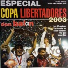 Coleccionismo deportivo: DON BALÓN-CHILE. - COPA LIBERTADORES 2003.#. Lote 134109214