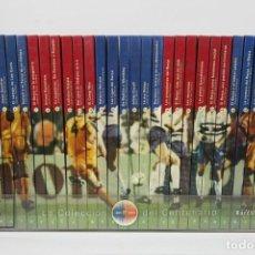 Coleccionismo deportivo: COLECCIÓN COMPLETA - LA COLECCIÓN DEL CENTENARIO / FC. BARCELONA, BARÇA - EDIT. BARCANOVA - AÑO 1998. Lote 134749882