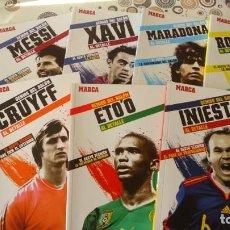 Coleccionismo deportivo: GENIOS DEL BALON DEL BARCELONA. Lote 134764078