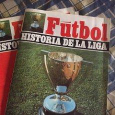Coleccionismo deportivo: HISTORIA DE LA LIGA DE FUTBOL RAMON MELCON. Lote 134821014