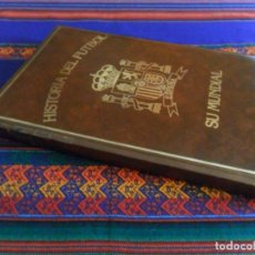 Coleccionismo deportivo: RESTAURANTE PORTONOVO Y MOAÑA, HISTORIA DEL FÚTBOL ESPAÑA SU MUNDIAL. 1982. 160 PÁGINAS. . Lote 135114658