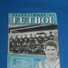 Coleccionismo deportivo: (M) RCD ESPAÑOL - JUAN PARRA , SELECCIONES DE FUTBOL NUM 2 , EDT LARA , ILUSTRADO , 128 PAG. Lote 135134734