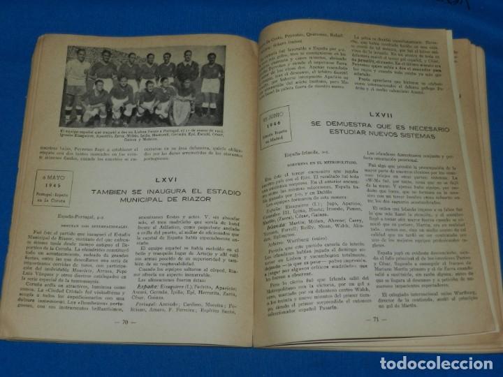 Coleccionismo deportivo: LIBRO - FUTBOL INTERNACIONAL ESPAÑOL DESDE LA OLIMPIADA DE AMBERES AL CAMPEONATO DEL MUNDO 1954 - Foto 3 - 135136394