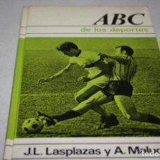 Coleccionismo deportivo: LIBRO EL ABC DEL FÚTBOL. Lote 135238634