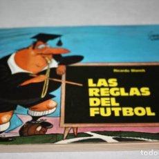 Coleccionismo deportivo: LIBRO LAS REGLAS DEL FÚTBOL. Lote 135261782