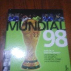 Coleccionismo deportivo - ATLAS DEL MUNDIAL 98 . FRANCIA 1998. - 135359442