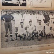 Coleccionismo deportivo: FÚTBOL, HISTORIA, ORGANIZACIÓN, EQUIPOS. 1950. Lote 135493198