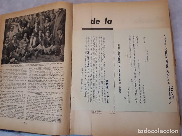 Coleccionismo deportivo: Fútbol, historia, organización, equipos. 1950 - Foto 11 - 135493198
