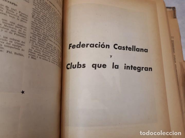 Coleccionismo deportivo: Fútbol, historia, organización, equipos. 1950 - Foto 24 - 135493198