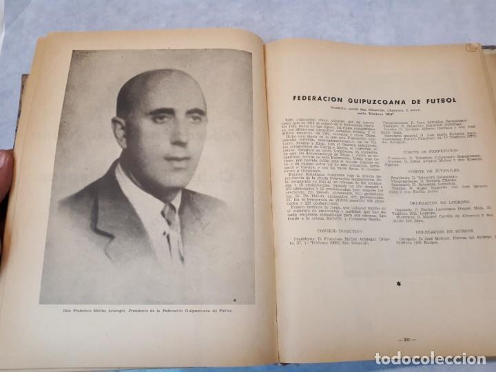 Coleccionismo deportivo: Fútbol, historia, organización, equipos. 1950 - Foto 25 - 135493198