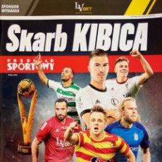 Coleccionismo deportivo: SPORT. - SKARB KIBICA - EKSTRAKLASA SEZON 2018/19 - EXTRALIGA / LEAGUEGUIDE. #. Lote 135515406