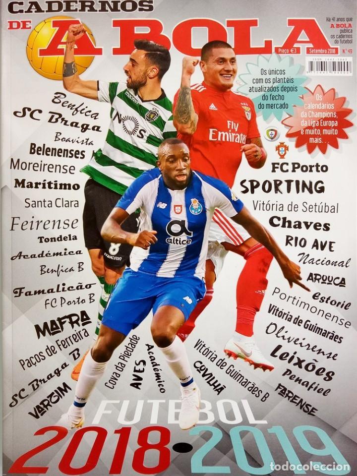 CADERNOS A BOLA. - FUTEBOL 2018/2019 - EXTRALIGA / LEAGUEGUIDE. # (Coleccionismo Deportivo - Libros de Fútbol)
