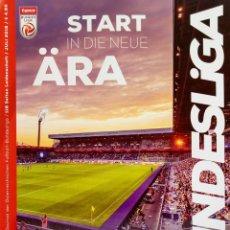 Coleccionismo deportivo: OFFICIAL AUSTRIAN LEAGUE. - BUNDESLIGA 2018/2019 - EXTRALIGA / LEAGUEGUIDE. #. Lote 135516358