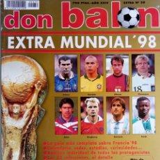 Coleccionismo deportivo: DON BALÓN. - EXTRA MUNDIAL 98.. Lote 135516506