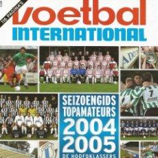 Coleccionismo deportivo: VOETBAL INTERNATIONAL. - SEIZOENGIDS TOPAMATEURS 2004-2005 - EXTRALIGA / LEAGUEGUIDE. #. Lote 135522518