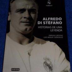 Coleccionismo deportivo: ALFREDO DI ESTEFANO - HISTORIAS DE UNA LEYENDA - EVEREST (2010). Lote 135597930
