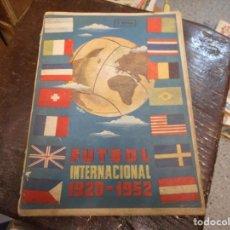 Coleccionismo deportivo: LIBRO 1952 FUTBOL INTERNACIONAL DE ESPAÑA DE 1920 A 1952 MUCHOS DATOS Y FOTOGRAFIAS. Lote 135688575