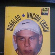 Coleccionismo deportivo - RONALDO NACIDO CRACK COMO SE FABRICA UN GENIO DEL BALON BARCELONA 1997 EL MUNDO DEPORTIVO - 162610450