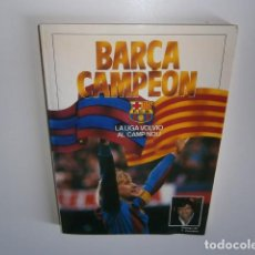 Coleccionismo deportivo: BARÇA CAMPEON LIBRO. Lote 135867154