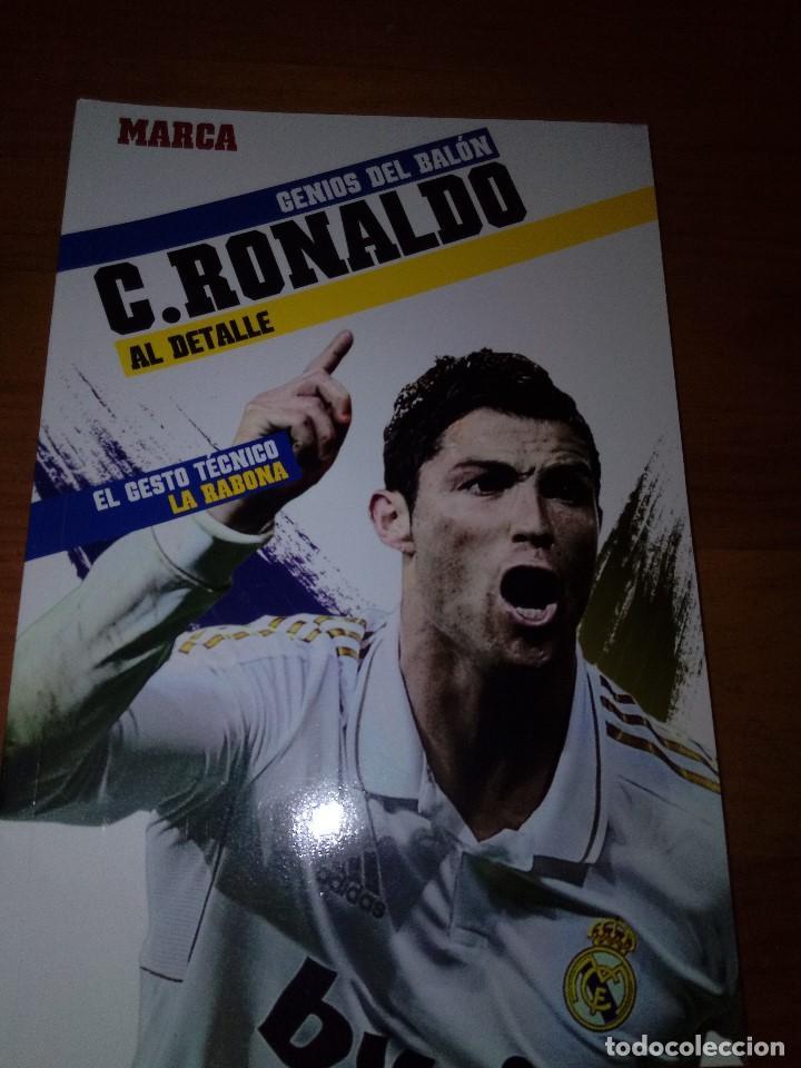 GENIOS DEL BALÓN AL DETALLE. C. RONALDO. MARCA. EST23B4 (Coleccionismo Deportivo - Libros de Fútbol)