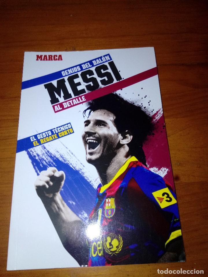 GENIOS DEL BALÓN AL DETALLE. MARCA. MESSI. EST23B4 (Coleccionismo Deportivo - Libros de Fútbol)