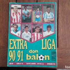 Coleccionismo deportivo: EXTRA LIGA DON BALON 90-91. Lote 136103850
