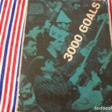 Coleccionismo deportivo: (ABJ)LIBRO FUTBOL-3000 GOALS F.C.INTERNAZIONALE DI MILANO-LANGUAGE ITALIANO EDICIÓN DE 1960.. Lote 136566198