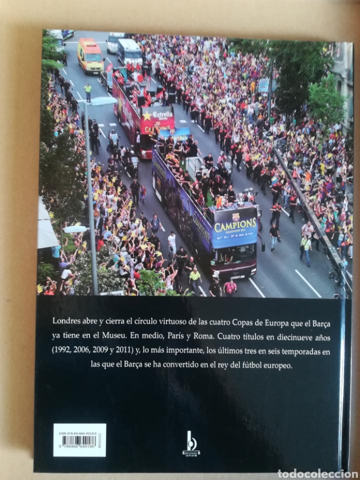 Coleccionismo deportivo: 4 CHAMPIONS DEL BARÇA - Foto 2 - 136572318