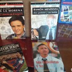 Coleccionismo deportivo: GENTE DEL FÚTBOL. LOTE ESPECIAL - CRUYFF STOICHKOV DE LA MORENA Y MOM. Lote 136967713
