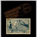 Coleccionismo deportivo: CAMPEONATOS MUNDIALES DE FUTBOL A TRAVES DE LA FILATELIA. LUIS MARIA LORENTE. ARGOS VERGARA, 1982. Lote 137509342